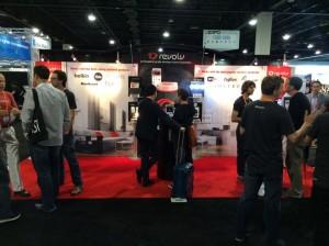 The Revolv team at CEDIA Expo in Denver