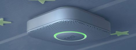 The brand new Nest smoke detector. Leading to the high-potential contract market and the turnkey project in several segments (hospitality, corporate, residential)
