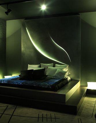 A lighting design implementation of Domotika (Unixmedia photogallery)