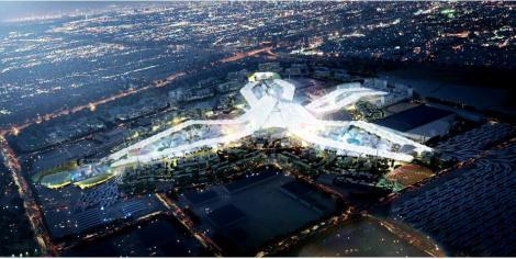 Dubai Expo 2020 Masterplan 3D rendering