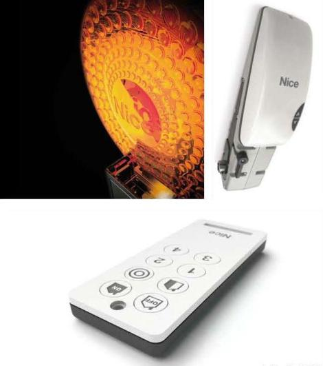 Several home automation products by Nice
