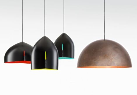 Serie Oru lamps by Fabbian