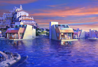 THOE Dubai - floating villas
