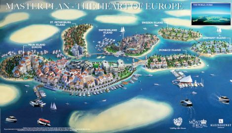 The Hearth of Europe Dubai Masterplan