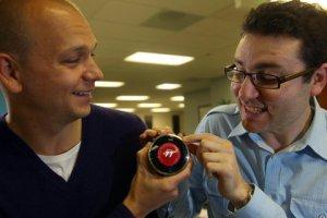Matt Roger (right) - Nest co-founder
