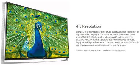 LG 4K OLED TV to be introduced during CES 2015