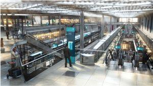 Doha Metro 3D render