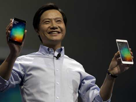 Xiaomi CEO with his top products
