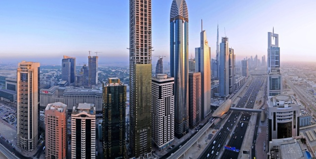 Dubai: as property prices fell in 2015 new projects and